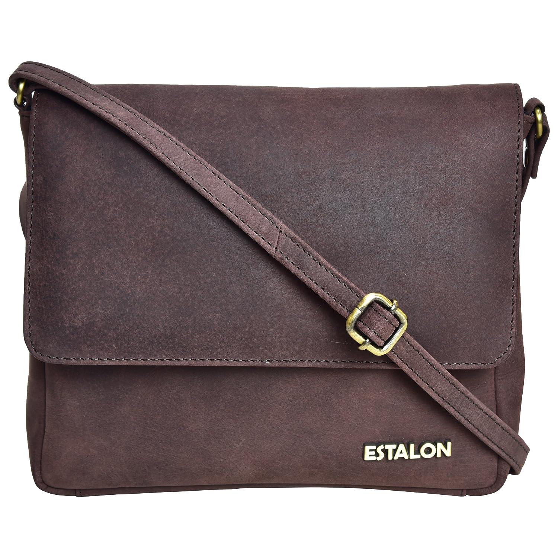 Leather Crossbody Purse for Women Small - Cross Body Bag Over the Shoulder Purses  Womens Handbag Messenger Bags (Brown Crazy Horse)  Handbags  Amazon.com 228fc3e4cf8e6