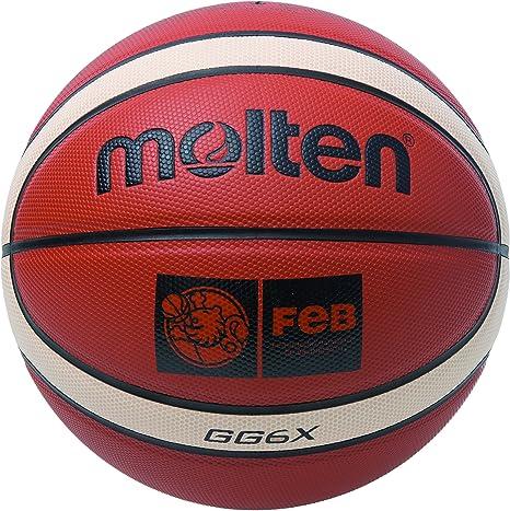 MOLTEN BGG6X Balón de Baloncesto, Mujer, marrón, 6: Amazon.es ...