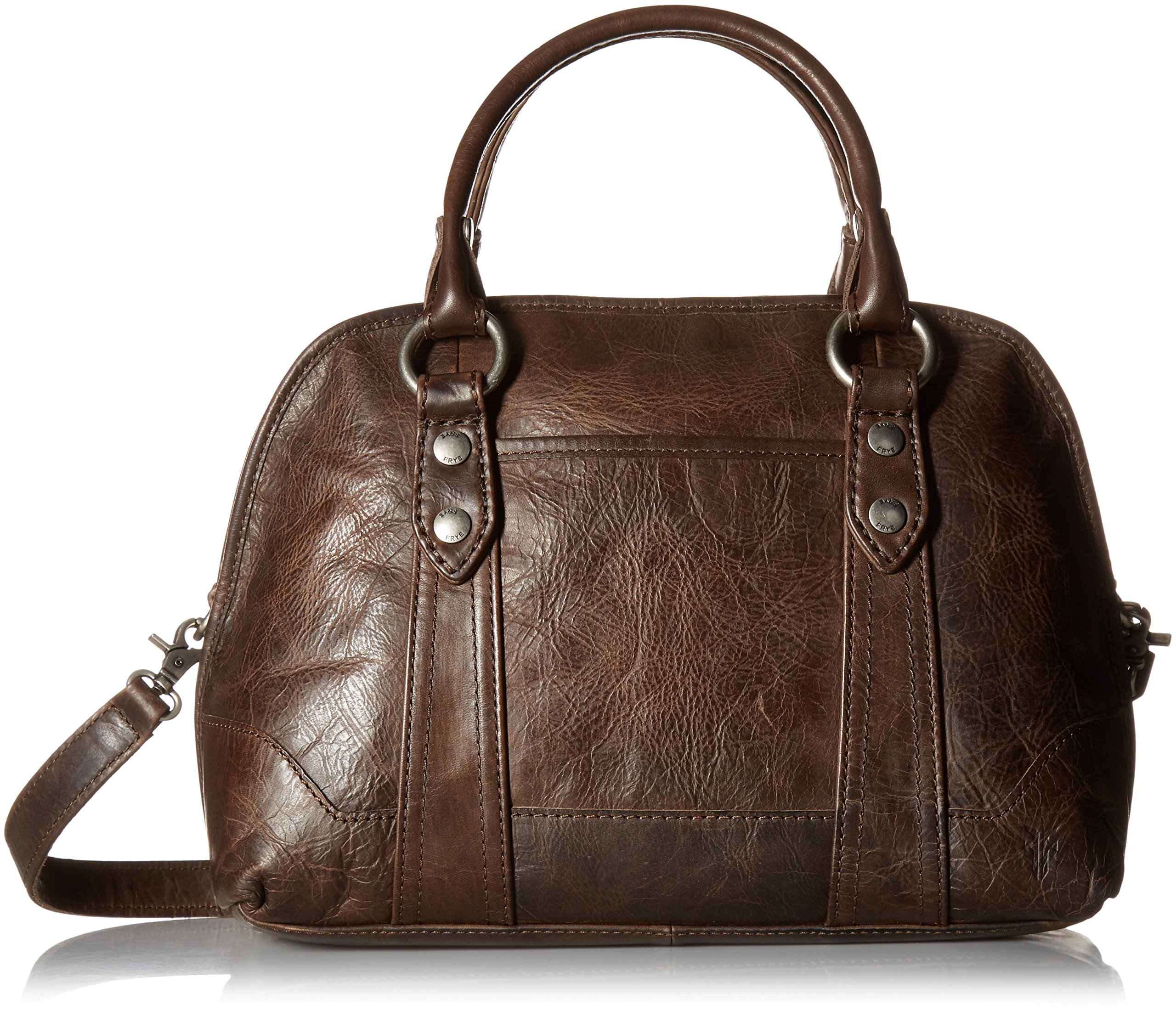 FRYE Melissa Domed Satchel Bag, Slate, One Size