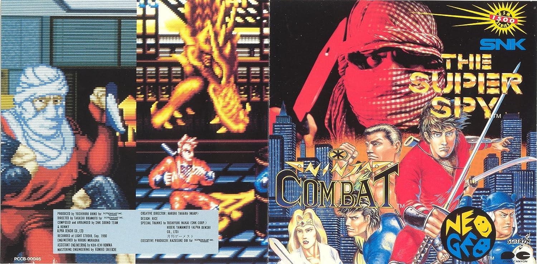 Amazon.com : The Super Spy / Ninja Combat Game Soundtrack CD ...