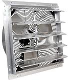 """VES 24"""" Exhaust Shutter Fan, Wall Mount, 3 Speed"""