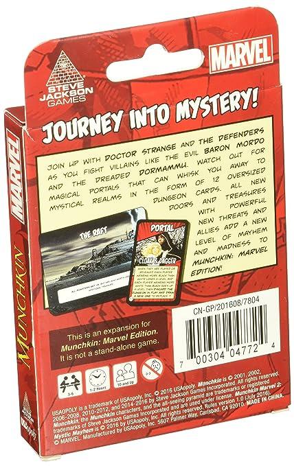 Amazon Munchkin Marvel 2 Mystic Mayhem Board Game Cards Toys Games