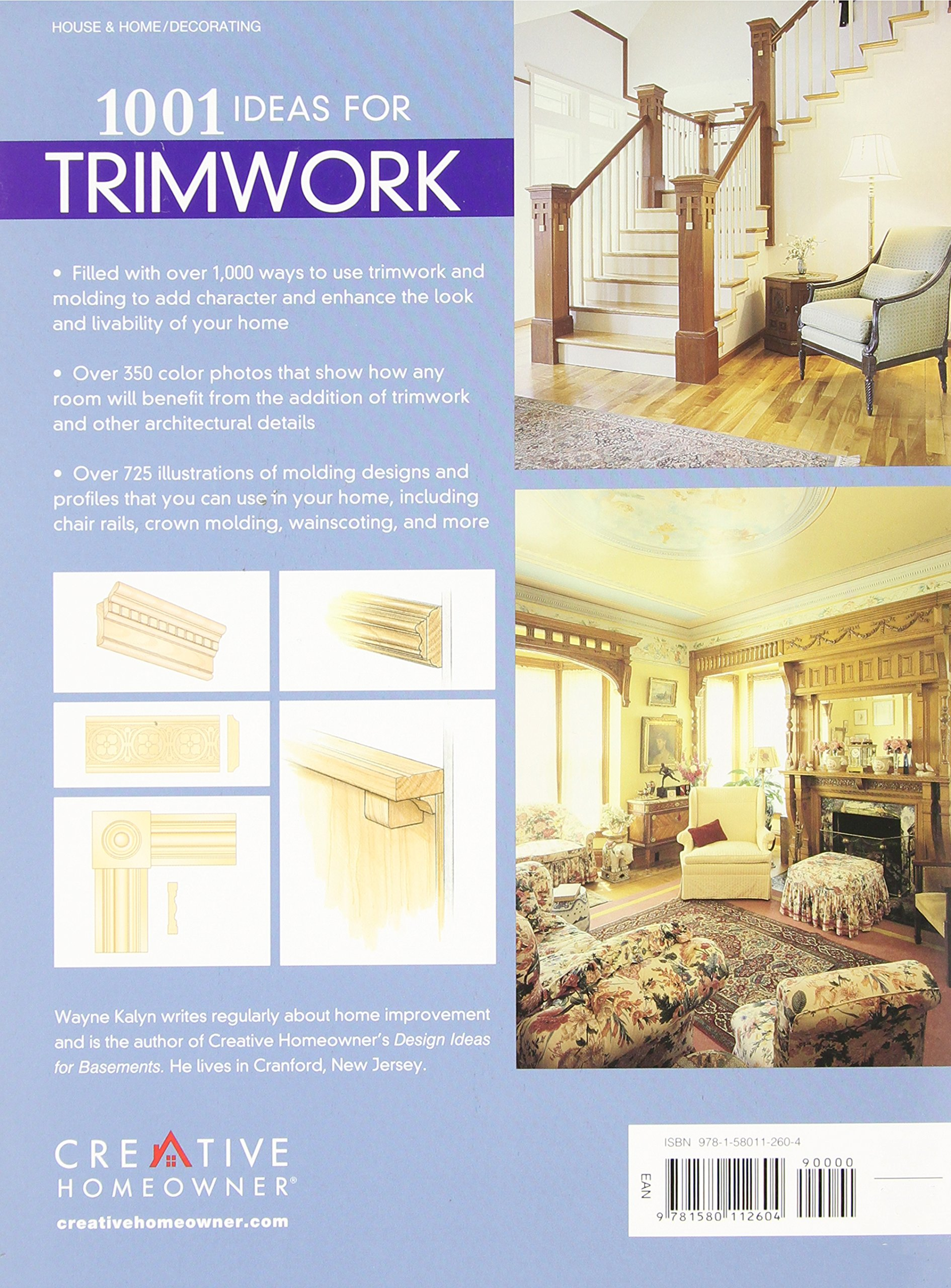 1001 Ideas for Trimwork: The Ultimate Source Book For Decorating ...