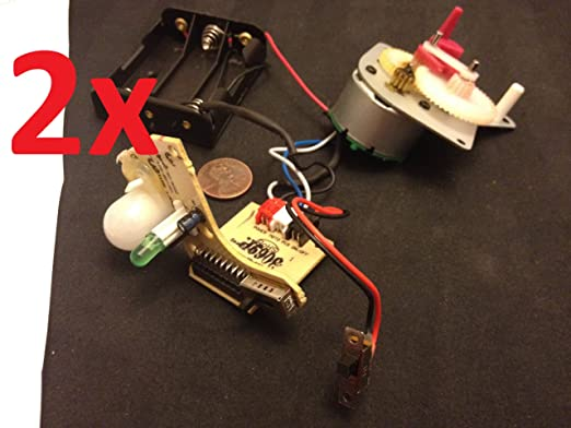 2 x Relé mecánico temporizador sensor de movimiento Moduel ...