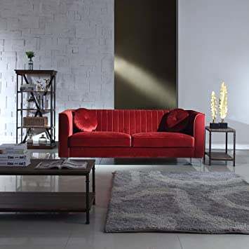Amazon Classic and Traditional Living Room Marilyn Velvet