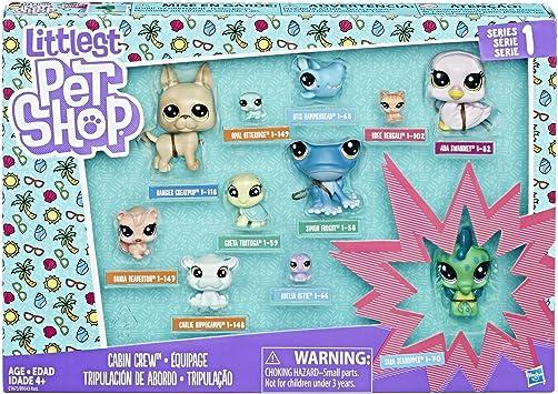 Amazon.es: Littlest Pet Shop Cabin Crew Pack: Juguetes y juegos
