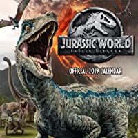 Jurassic World Official 2019 Calendar - Square Wall Calendar