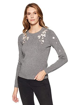 factory price 3cb85 4b5a4 VERO MODA - Maglione - Donna grigio 44: Amazon.it: Abbigliamento