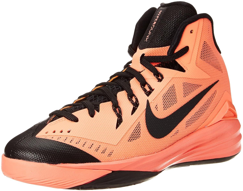 wholesale dealer 6a121 1e209 Nike Kids Boy s Hyperdunk 2014 (Big Kid) Bright Mango Black Sneaker 4 Big  Kid M  Amazon.in  Shoes   Handbags