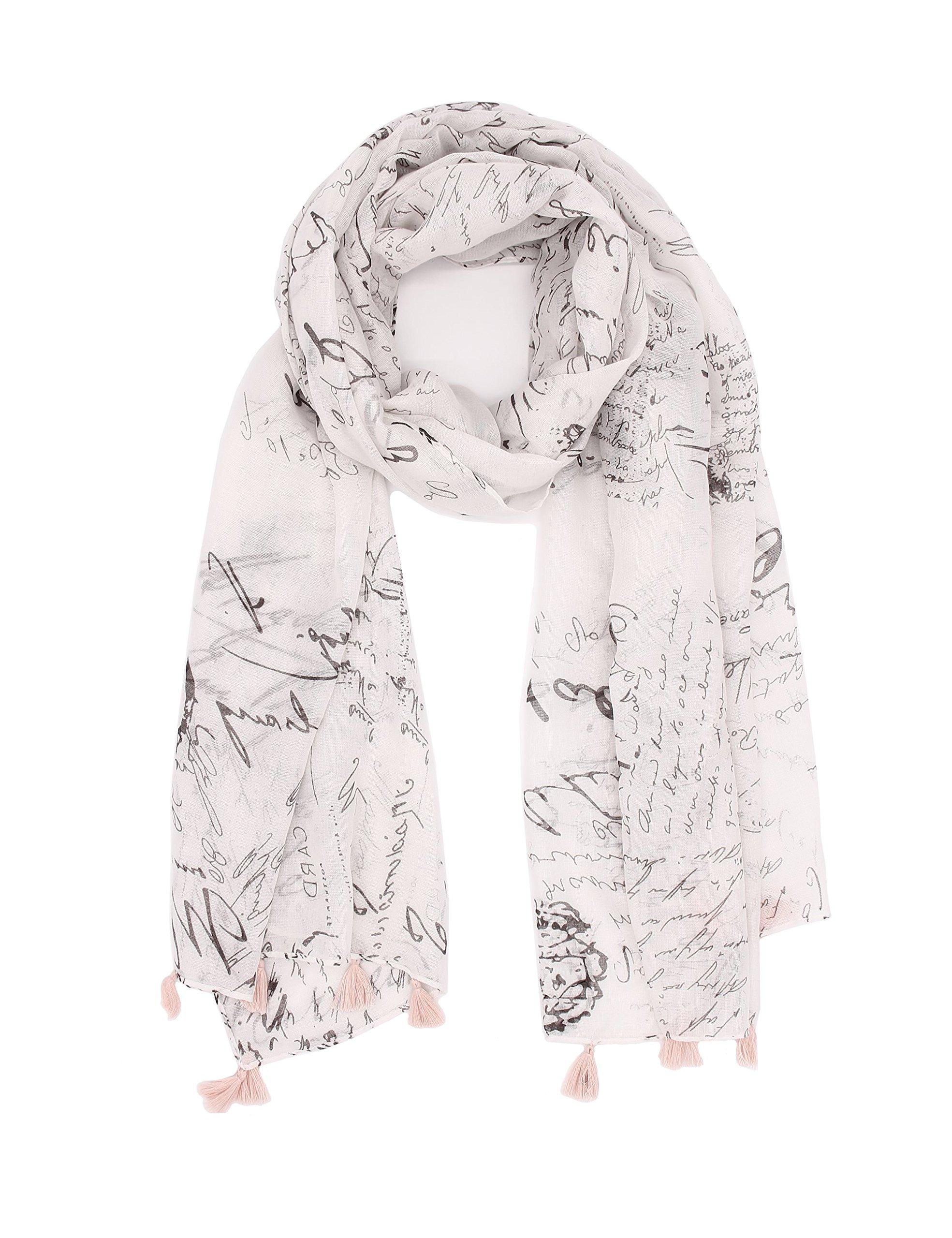 Summer Chiffon Scarfs For Women Lightweight Fashion Soft Large Shawl Wrap Vintage Print Long Head Scarfs By J'Mysticon