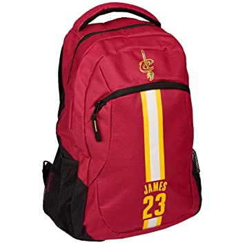 Cleveland Cavaliers NBA Action Backpack School Book Gym Bag