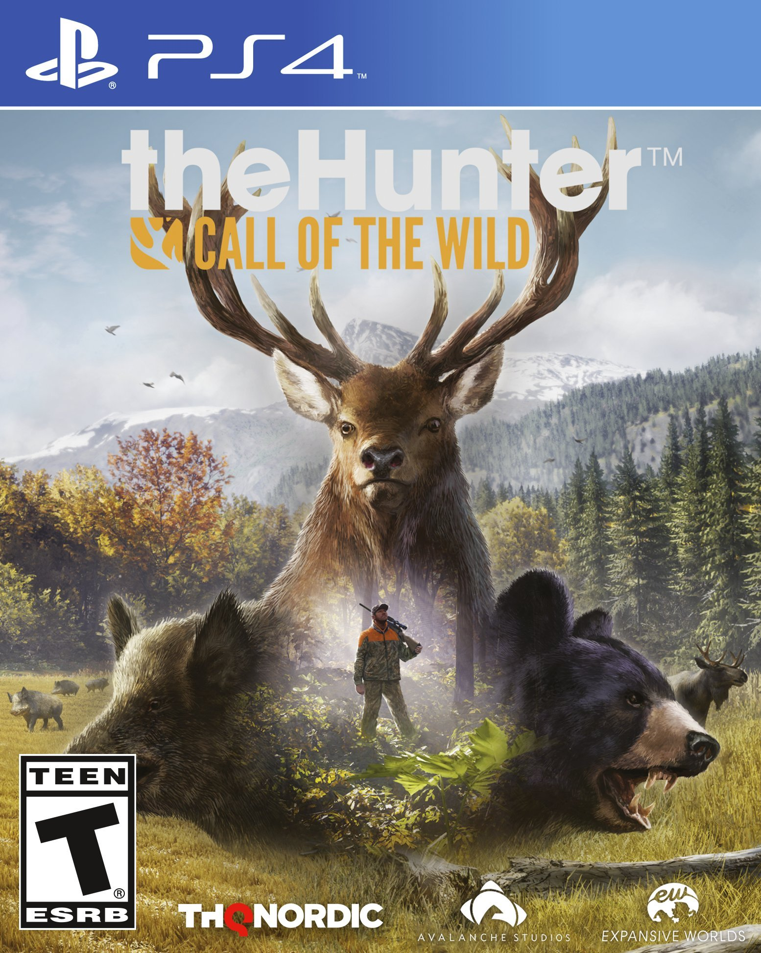 Thehunter: Call Of The Wild - Playstation 4 (dd36)