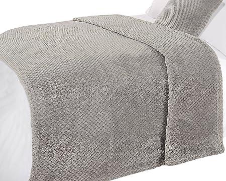 Soft Blanket Texture In Dreamscene Luxury Waffle Honeycomb Mink Soft Warm Throw Over Sofa Bed Blanket 150 200cm