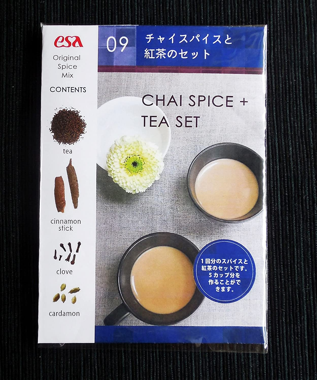 ESAアジア教育支援の会『チャイスパイスと紅茶のセット』