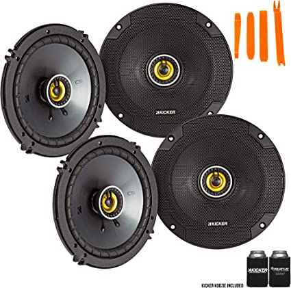 """NEW 6.5/"""" Coaxial Wakeboard Replacement Speaker.Full Range 4ohm.Coax 6-1//2/"""".Boat"""