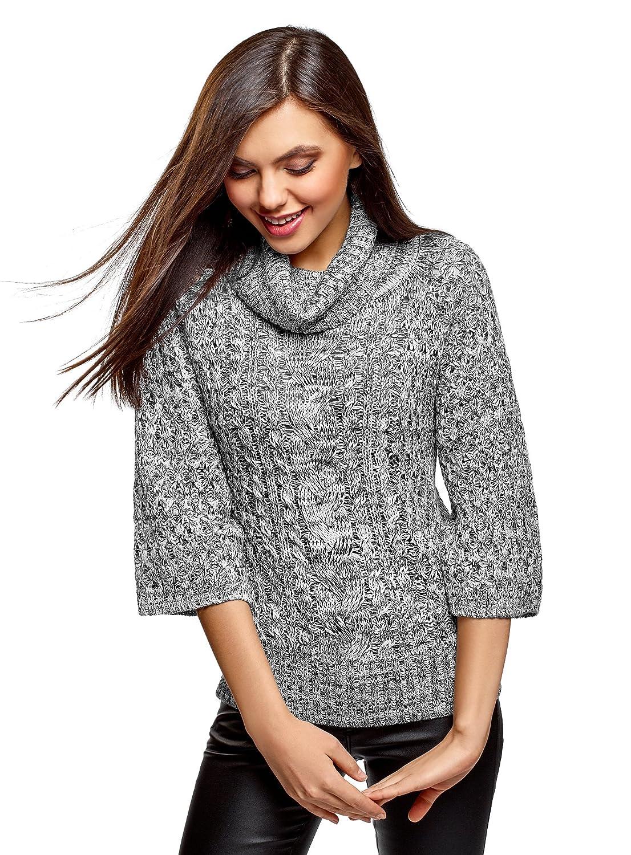 8e149736f9 Beste oodji Collection Damen Pullover mit Lurex und Rollkragen ...