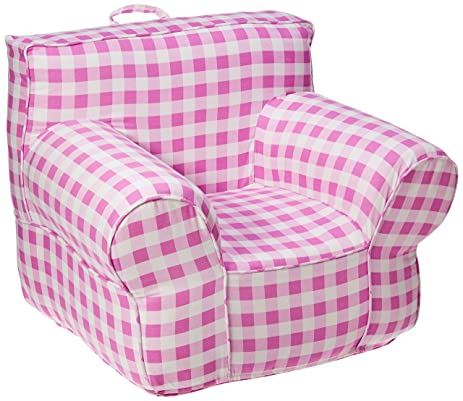 Wonderful CUB CHAIRS Regular Pink Gingham Chair Cover For Foam Childrenu0027s Chair