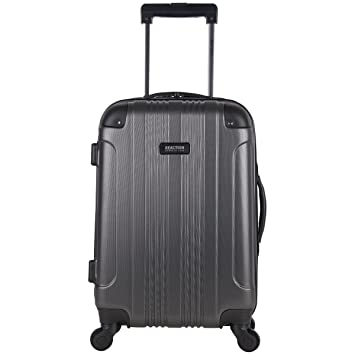 8dddc3536435 ... Kenneth Cole Reaction Out Of Bounds 20-Inch Carry-On Lightweight  Durable Hardshell 4-Wheel Spinner Cabin Size Luggage, Charcoal | Luggage &  Travel Gear