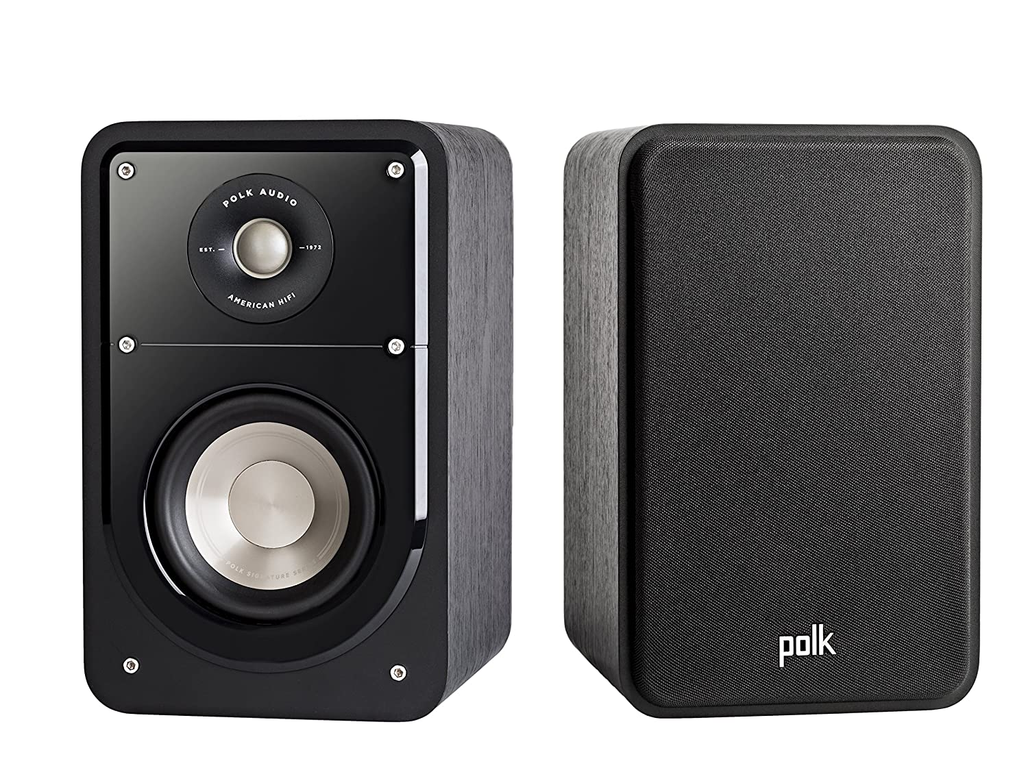 Polk Signature S15 - Altavoces estantería, Color Negro
