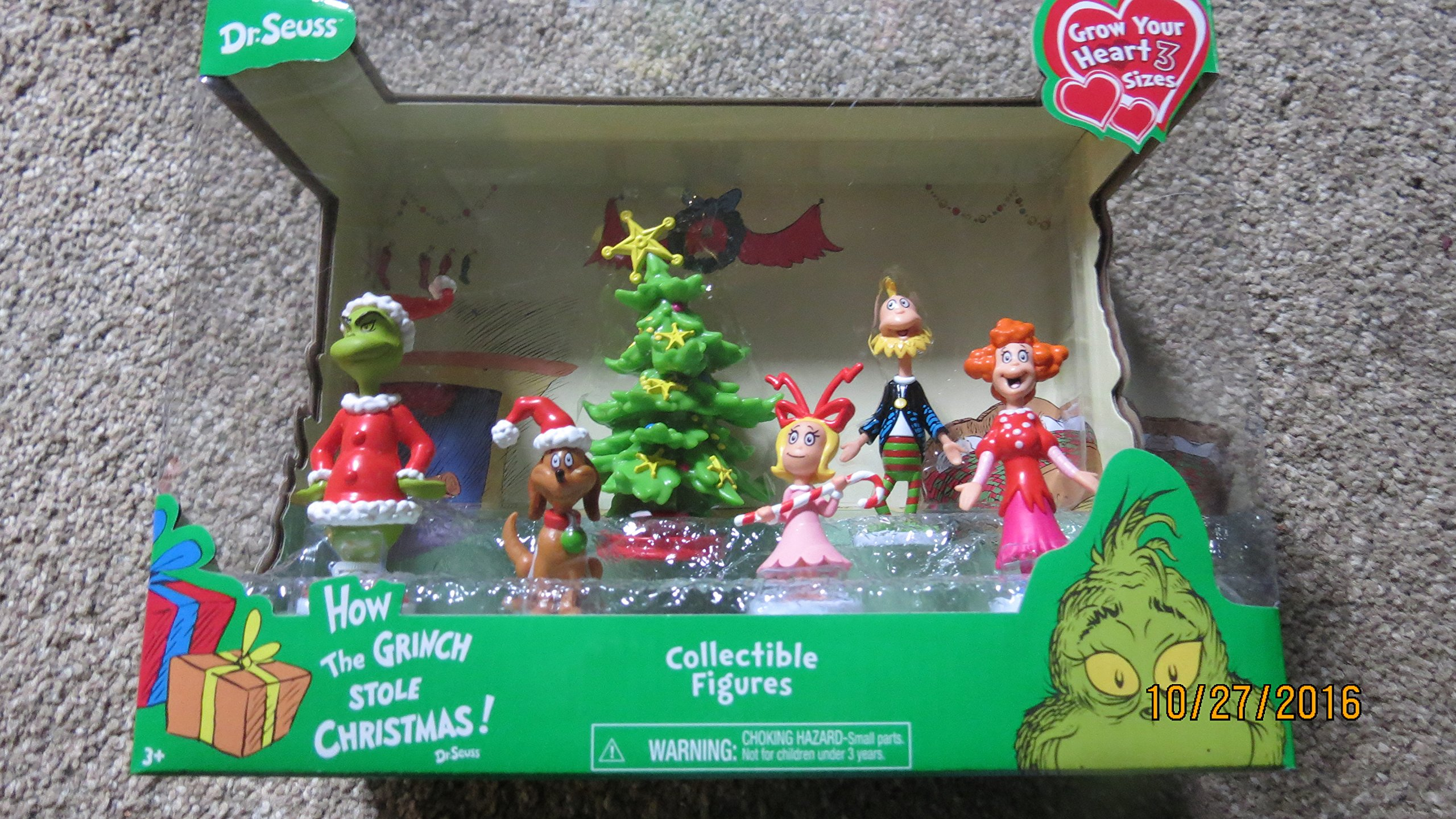 dr seuss how the grinch stole christmas collectible