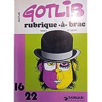 Rubrique-a-brac, 16/22 tome 4, premiere partie