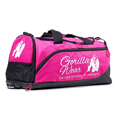 89c9bd7c8037 GORILLA WEAR Women s Santa Rosa Gym Bag Black Pink at Amazon Women s  Clothing store