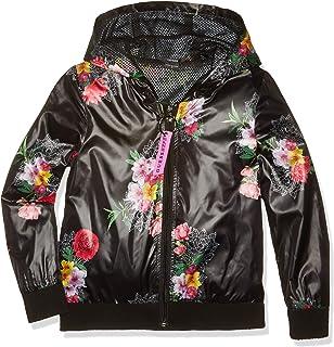 Amazon.com: GUESS Girls Big Elsa Rose Applique Pu Leather ...