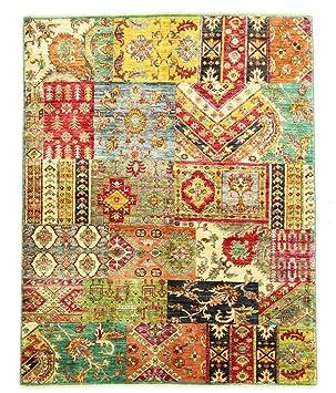 Nain Trading Arijana Puzzle 206x165 Orientteppich Teppich Beige