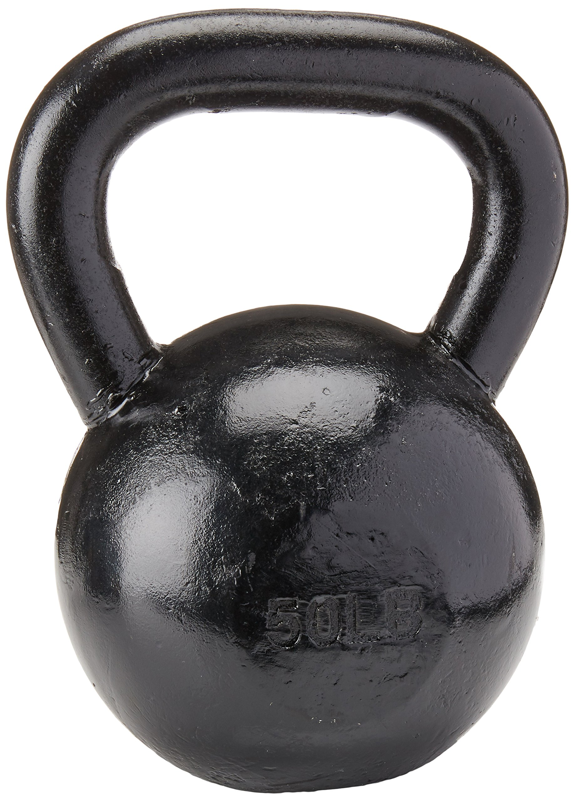 Sunny Black Kettle Bell (50-Pound)