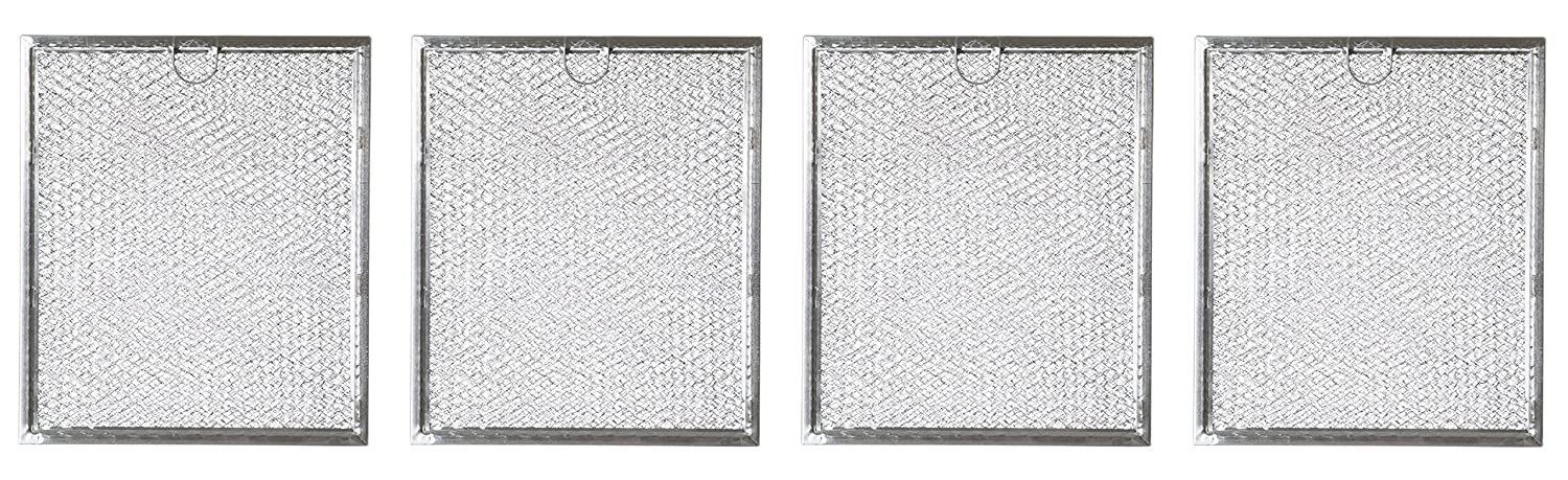 Replacement Microwave Grease Filter For GE General Electric Hotpoint WB6X486 - 4 Filters