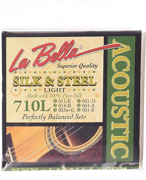 Labella 710L - Juego de cuerdas para guitarra: Amazon.es ...