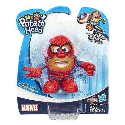 Mr. Potato Head Spider-Man Mixable Mashable Heroes Mr. Potato Head as Spider-Man Figure: Toys & Games