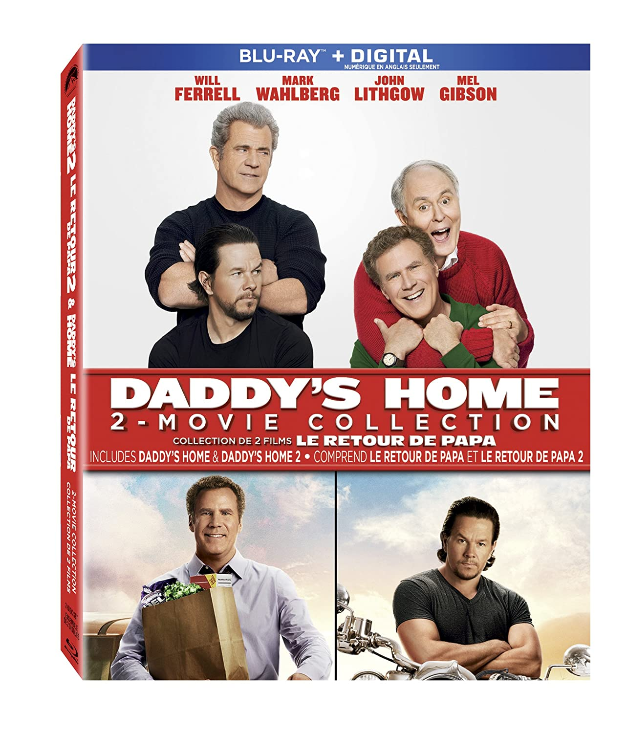 Daddy's Home / Daddy's Home 2 (2-Movie Collection) (Blu-ray)