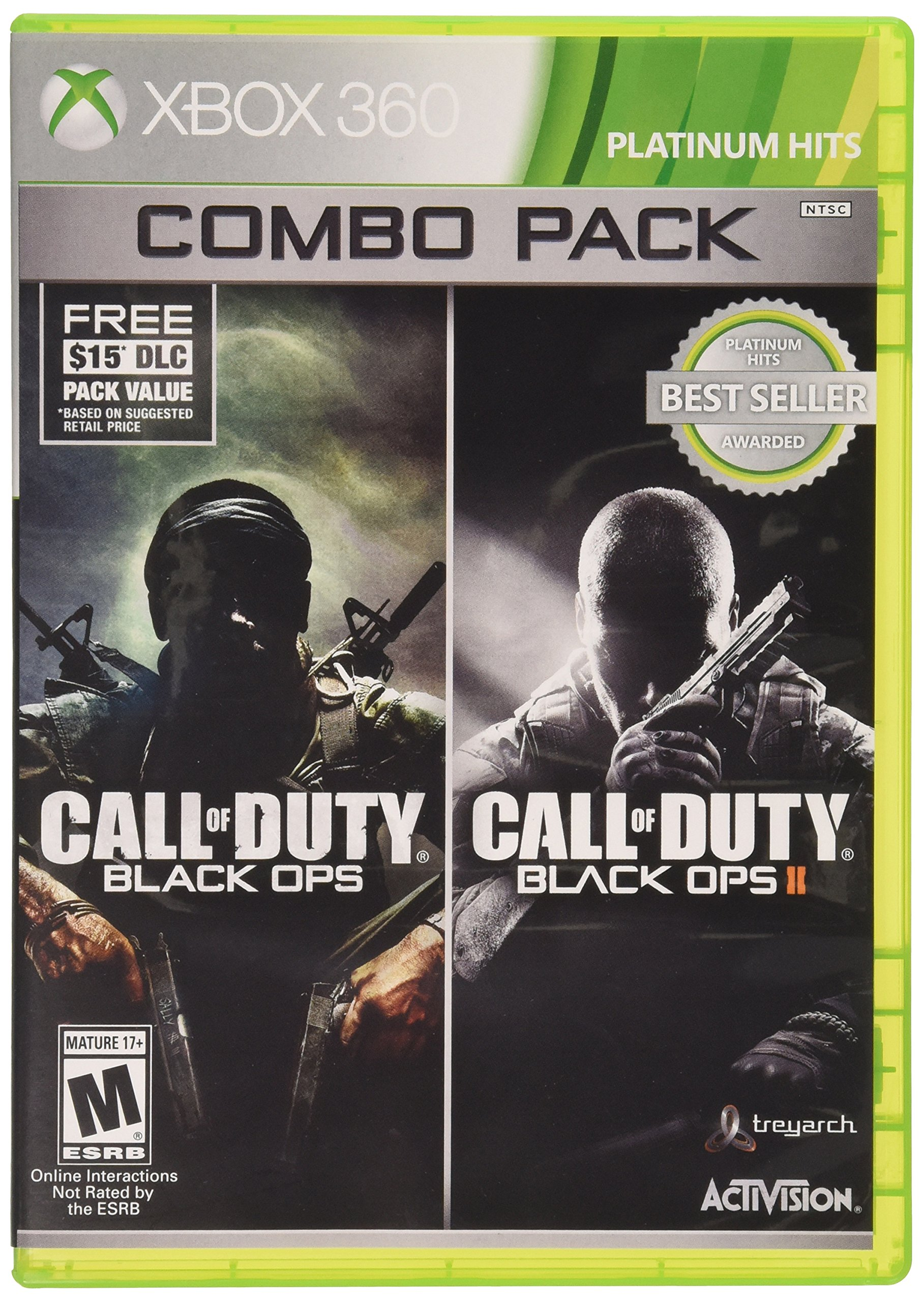 Call of Duty: Black Ops Combo Pack - Xbox 360 by Activision (Image #1)