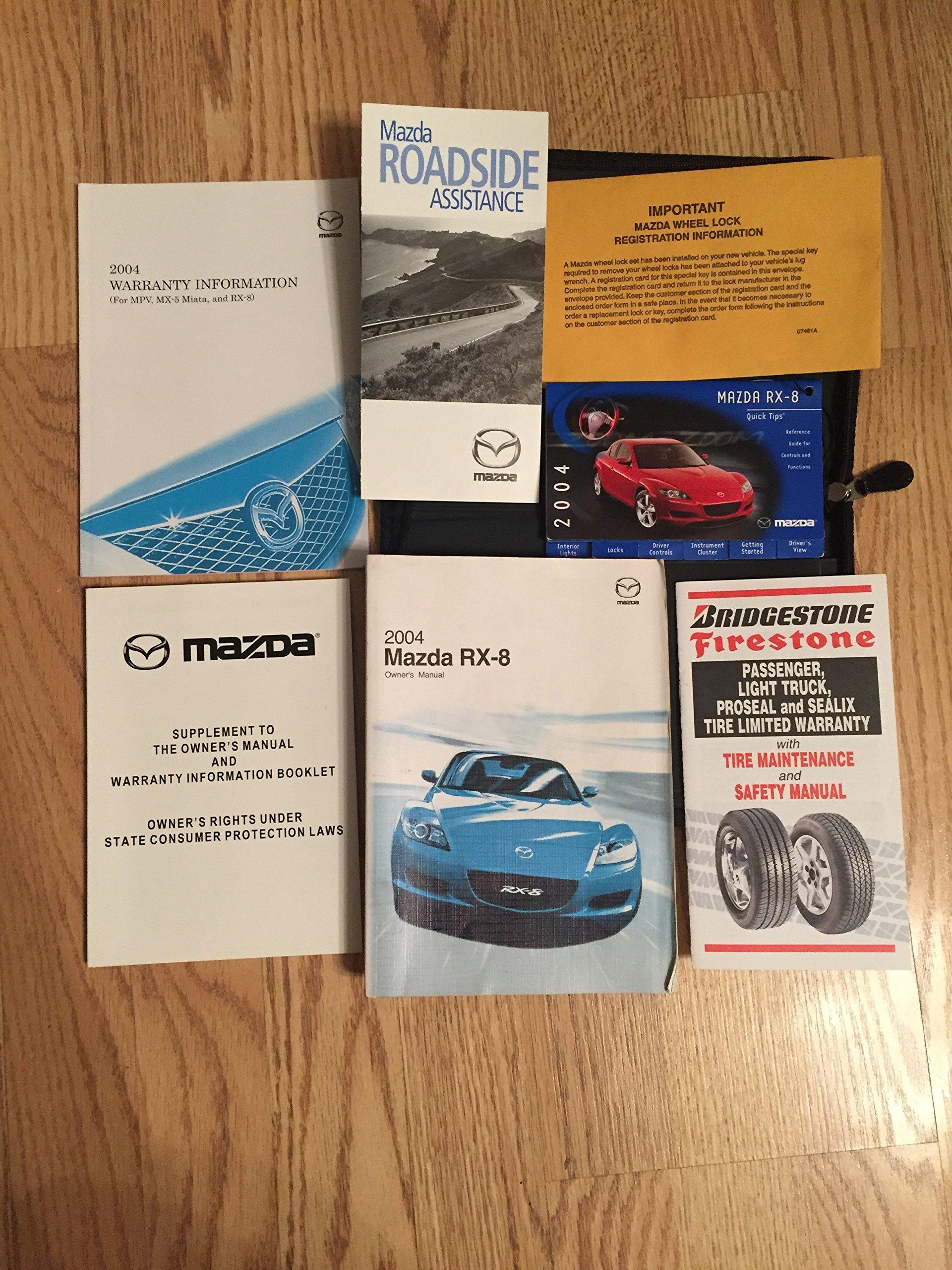 2004 Mazda Rx 8 Rx8 Owners Manual Mazda Motors Amazon Com Books Rh Amazon  Com 2004
