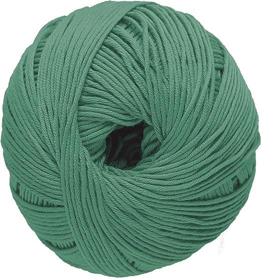 DMC Hilo Natura, 100 % algodón, Verde Valle N14: Amazon.es: Hogar