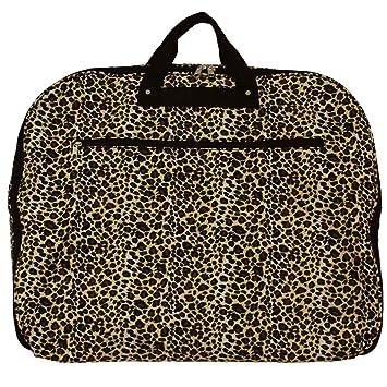 8874151a8b90 World Traveler 40 Inch Hanging Garment Bag, Leopard, One Size