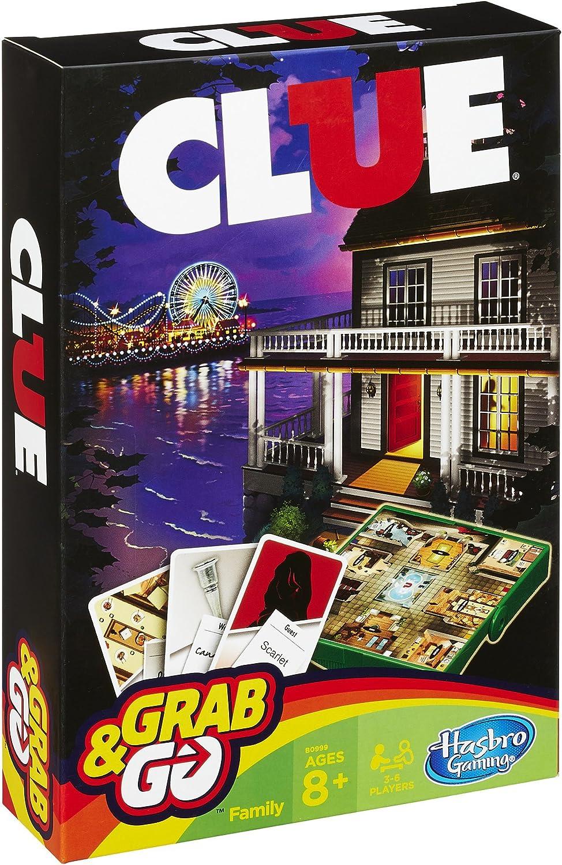 Hasbro Clue Grab and Go Juego: Amazon.es: Juguetes y juegos