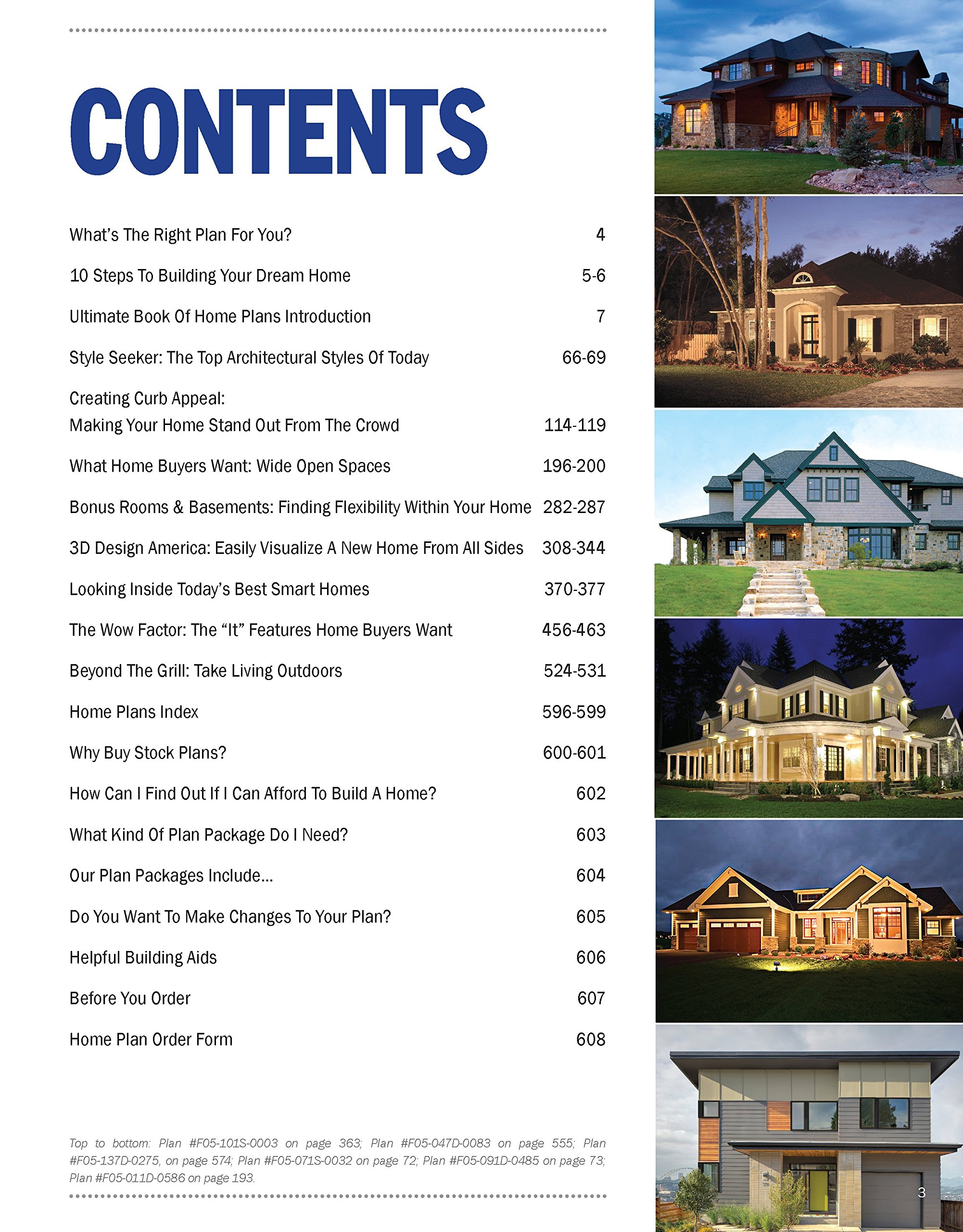 Ultimate Book of Home Plans: 730 Home Plans in Full Color North ...