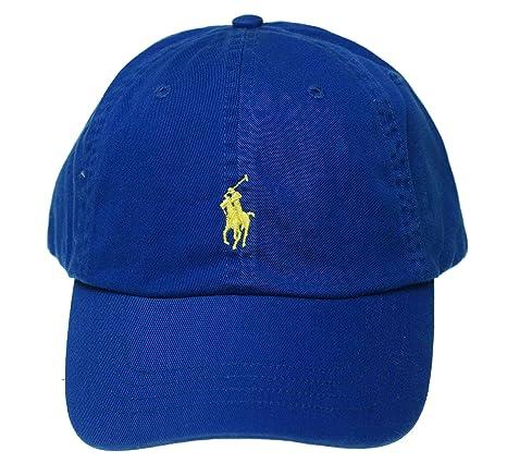 eca5683e3 Polo Ralph Lauren Men Women Cap Horse Logo Adjustable Pacific Royal   Amazon.ca  Luggage   Bags