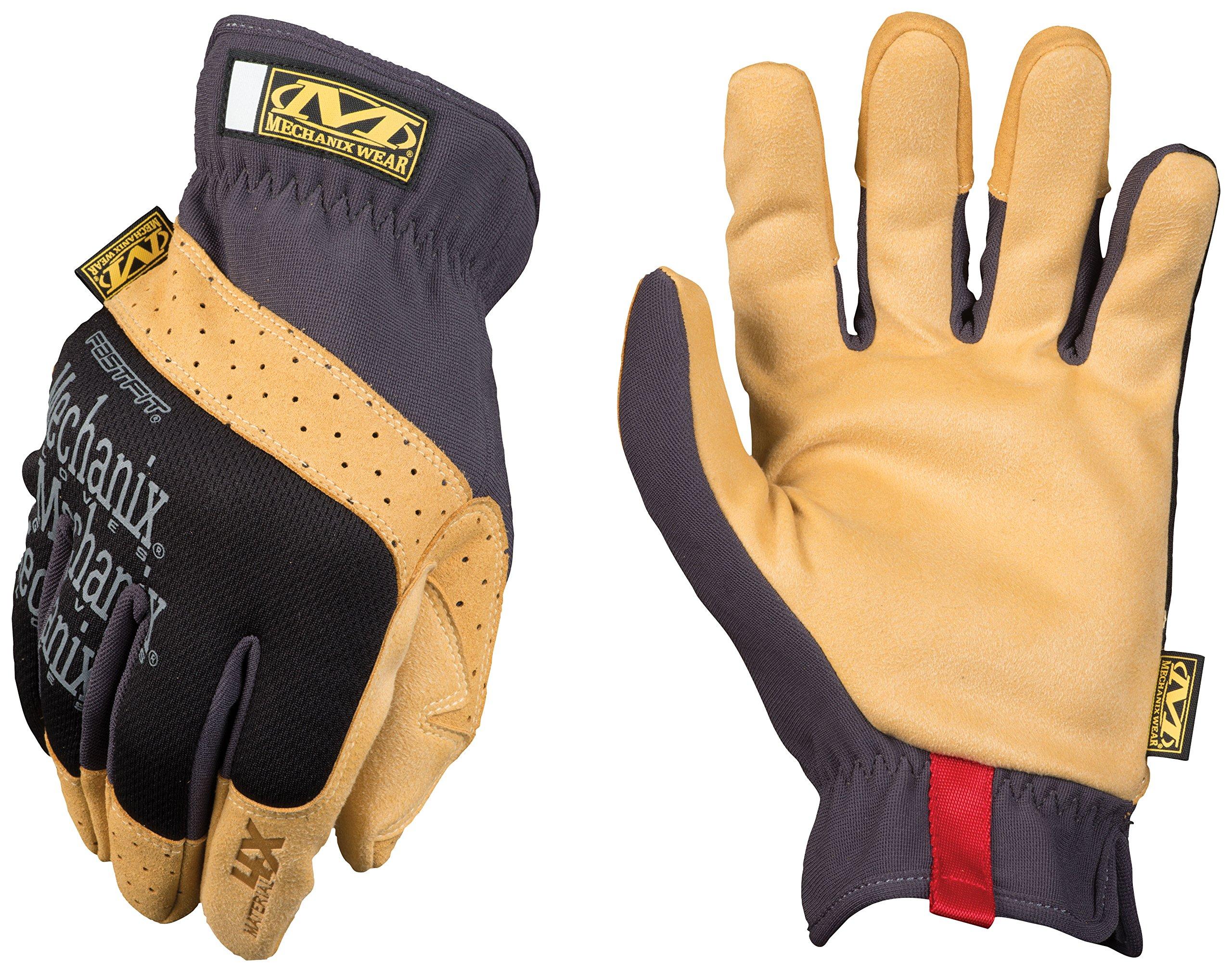 Mechanix Wear - Material4X FastFit Work Gloves (Medium, Brown/Black)