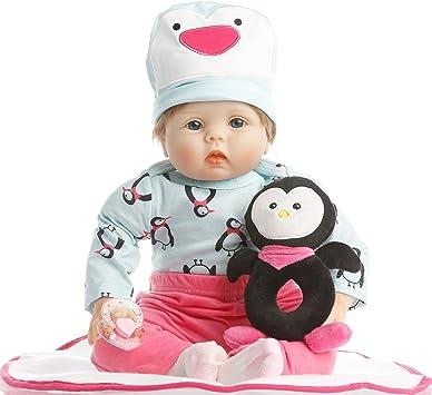 Amazon.com: NPK colección Reborn muñeca bebé bebés realista ...
