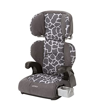 Cosco Pronto Booster Car Seat For Children Adjustable Headrest Integrated Cup Holders