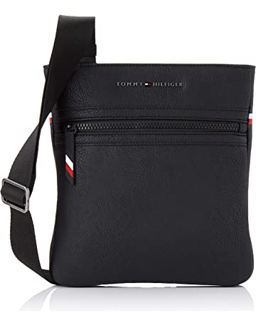 8d8287691 TOMMY HILFIGER ESSENTIAL CROSSOVER Pouches/Clutches men Black  Pouches/Clutches