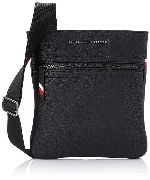 fc0615f2eb Tommy Hilfiger Essential Crossover - Borse a spalla Uomo, Nero (Black),  3x23x22 cm (B x H T): Amazon.it: Scarpe e borse