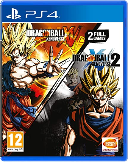 Dragon Ball Xenoverse And Dragon Ball Xenoverse 2 Double ...