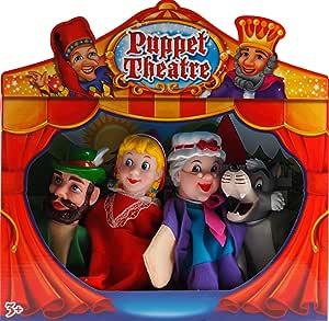 Completa Caperucita Roja y el lobo Teatro espectáculo de