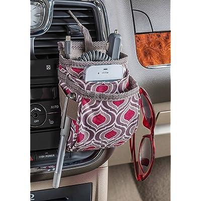 High Road DriverPockets Air Vent Phone Holder and Dash Organizer (Sahara): Automotive