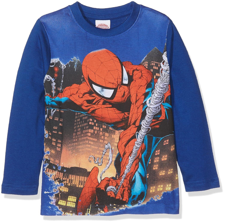 bac4e25f Marvel Baby Girls' 15605forwardslash10AZ Long Sleeve Top, Blue (Bluette),  98 cm: Amazon.co.uk: Clothing
