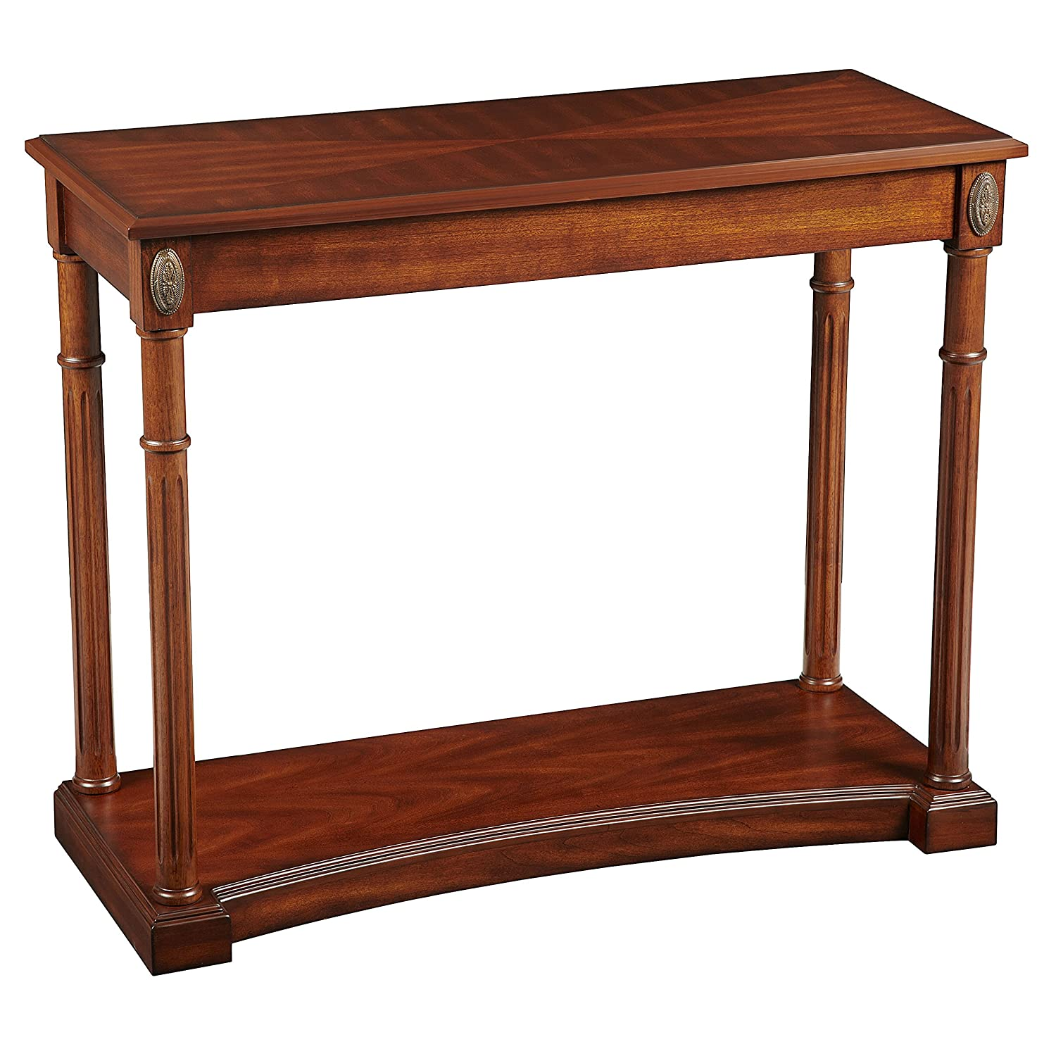 Amazon Bombay pany Athena Console Table Antique Cherry